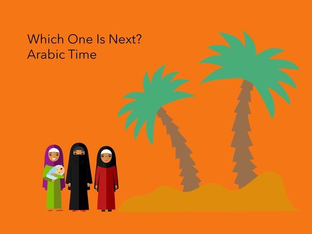 Next: Arabic Time by Carol Smith