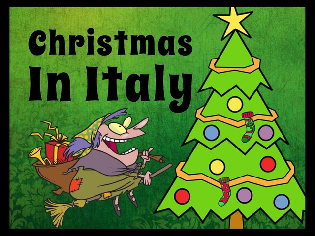 Christmas In Italy by Ellen Weber
