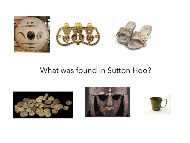 This game is about Sutton Hoo. by RGS Springfield