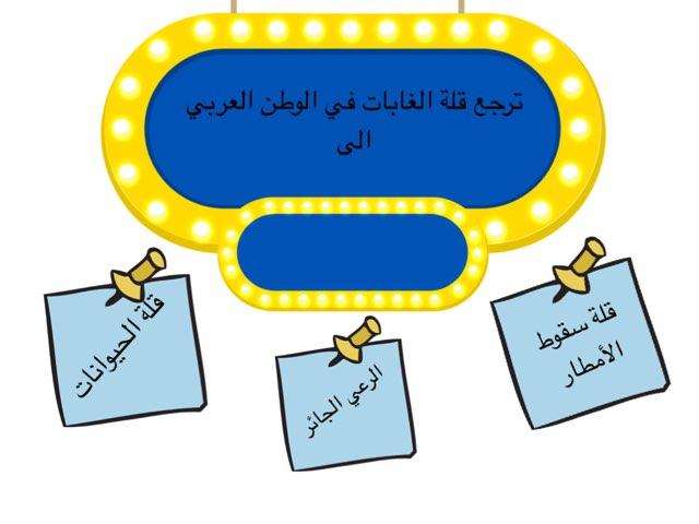 مراجعة الوحدة الخامسة المناخ والنبات الطبيعي وموارد المياه  في الوطن العربي  by msswsn s