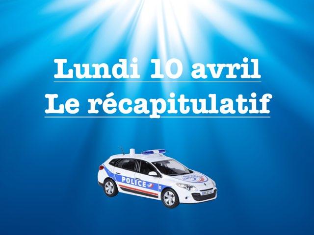 M - Lun10 - Récapitulatif  by Caroline Gozdek