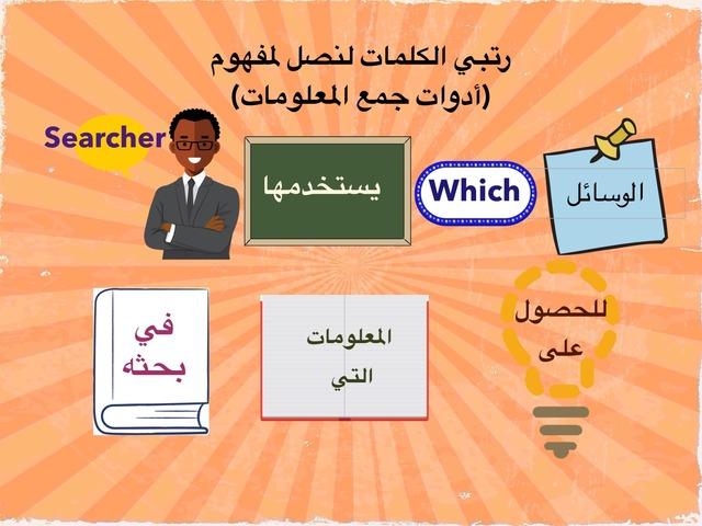 أدوات جمع المعلومات by احلام الغفاري