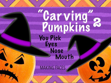Carving Pumpkins 2 - Halloween by Cici Lampe