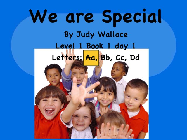 We Are Special by Judy Wallace