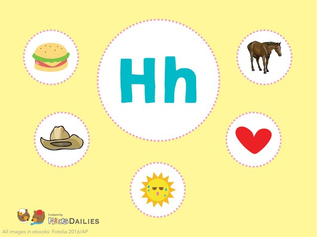 Hh  by Kids Dailies