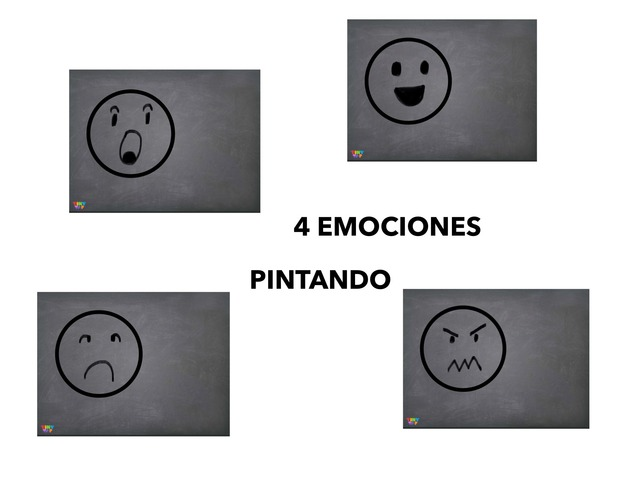4 EMOCIONES by Francisca Sánchez Martínez