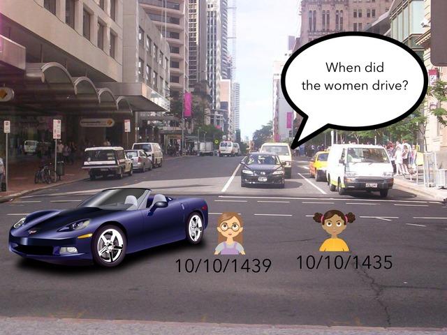 Driving by esl teacher