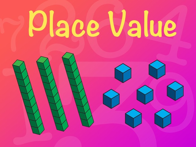 Place Value - MAB Blocks 3 by Kaitlin Orr