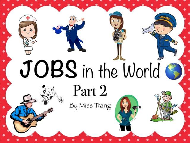 Jobs Vocabulary Part 2 by Trang Quỳnh