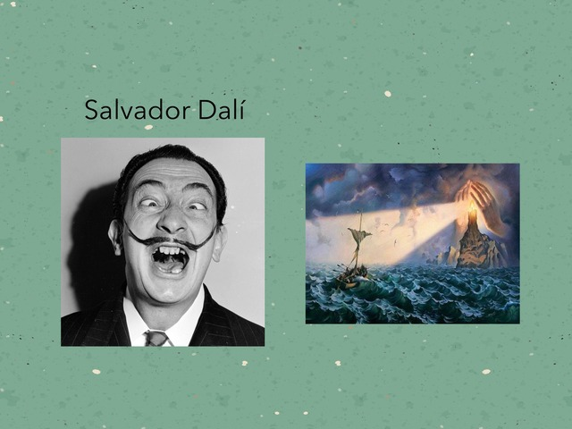 Salvador Dalí by Becca XOX
