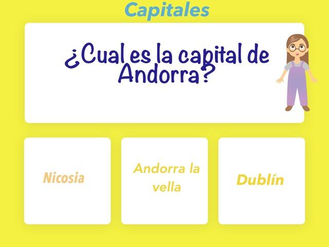 Capitales by Lola Domínguez