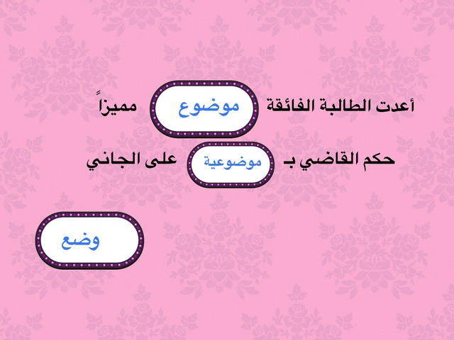 تصريف by fatima fatima