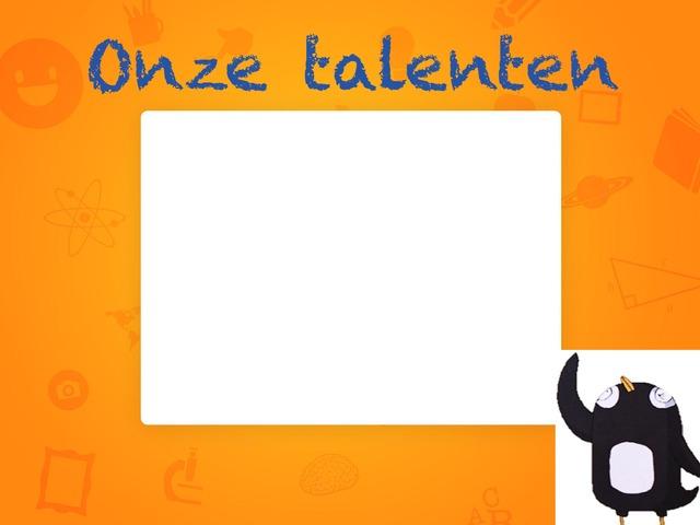 Onze Talenten by Annick Vermeulen