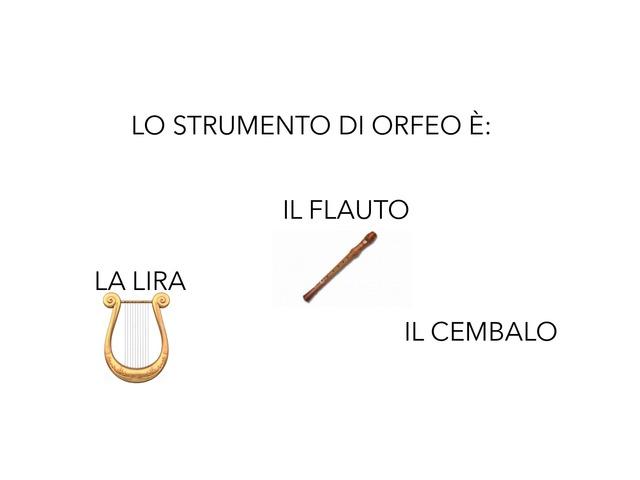 Orfeo by Valeria Lombardi