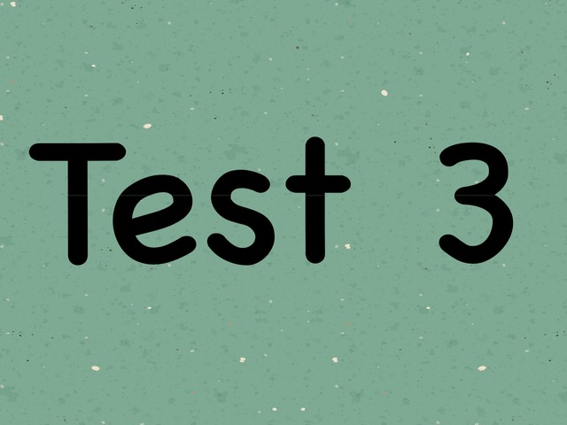 2017 Pre-P1 Test 3 by Sjs