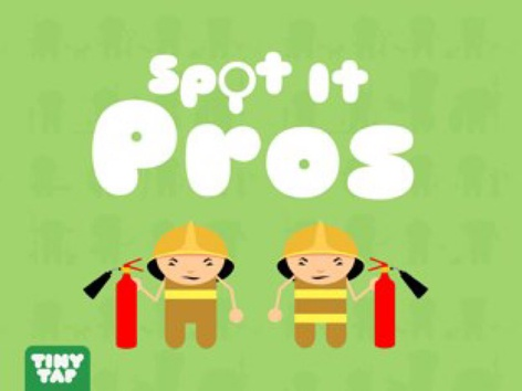 Spot It Professions by Tiny Tap