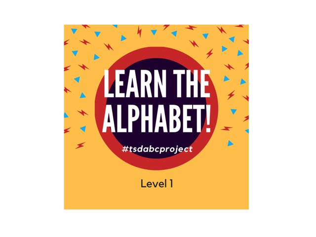 Aplhabetical Order: Touch The Letter 1 (caps) by TSD Library