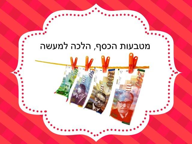 סיכום נושא הכסף  by Einav Shalom
