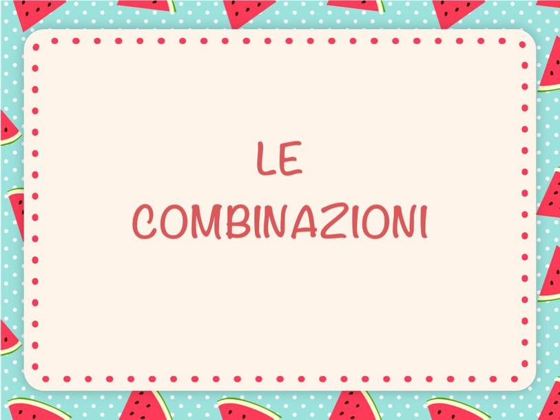Le Combinazioni by Primaria Interattiva