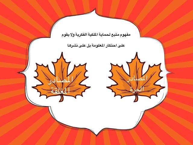 المصادر الحرة (اللعبة الكاملة) by raneem baaqeel