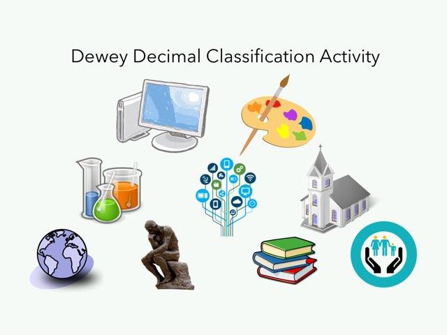 Dewey Decimal Activity by Alison Jack
