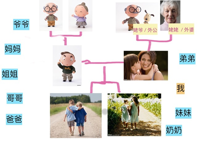 主要家庭成员 by hang zhang