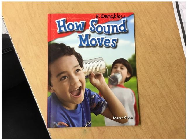 How Sound Moves by Evie Dencklau
