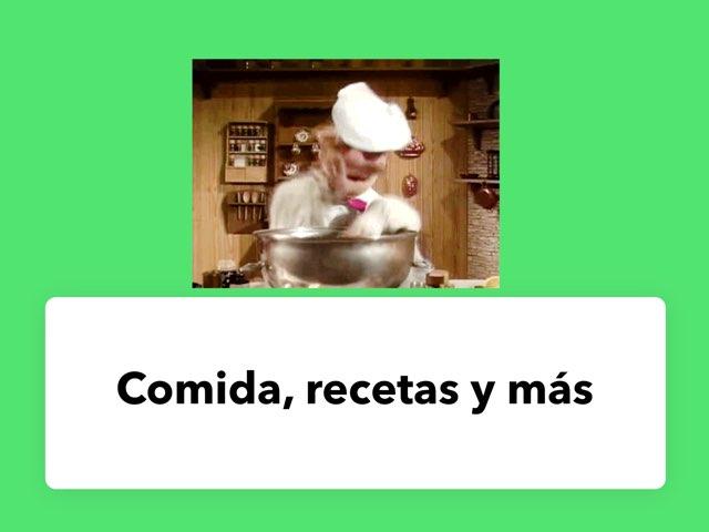 Comida Y Recetas by Naomi Nye