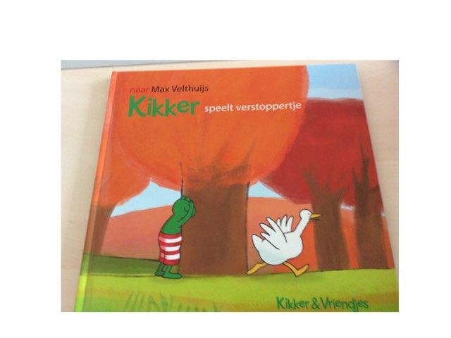 Kikker speelt verstoppertje. by Emalie Jansen