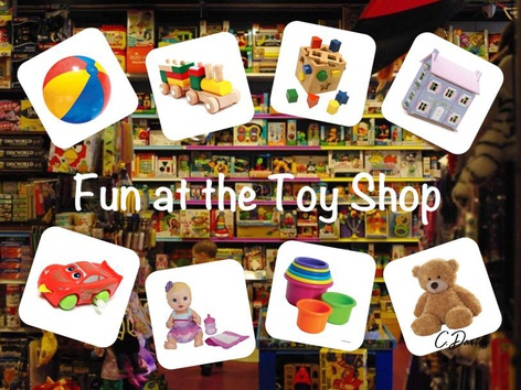 Fun At The Toy Shop by Catherine Davies