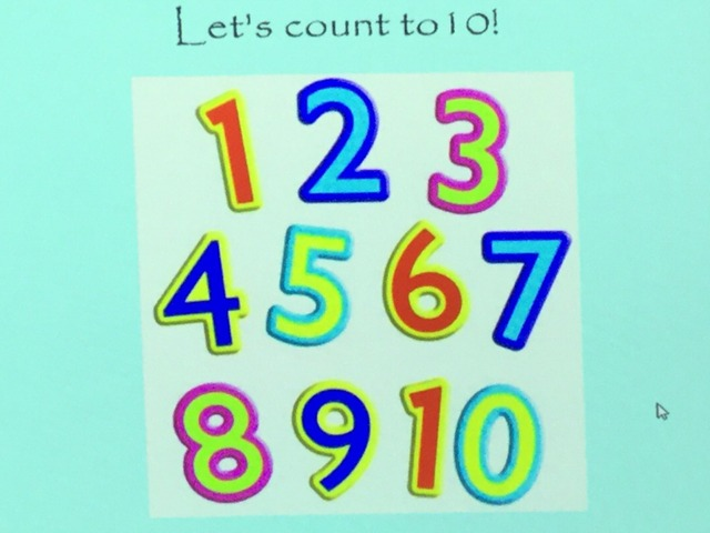 Let's Count To 10 by Aimee Cummins