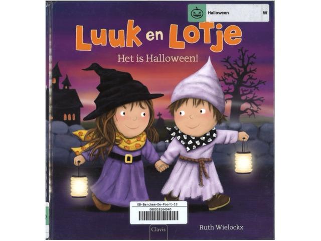 Luuk en Lotje: Het Is Halloween by Aaron Willaert