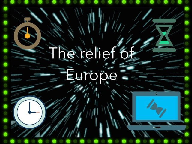 The Relief Of Europe Jimena by Jimena Gil