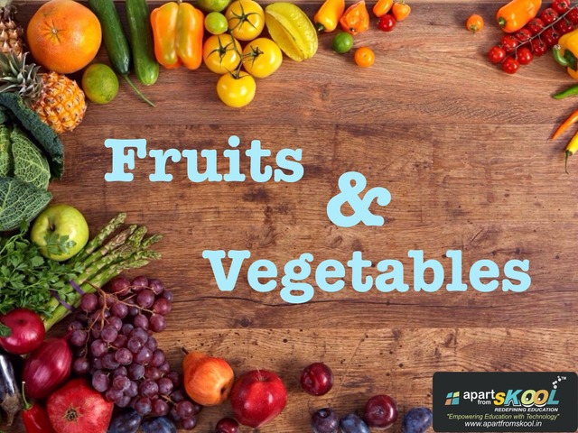 Fruits & Vegetables by TinyTap creator