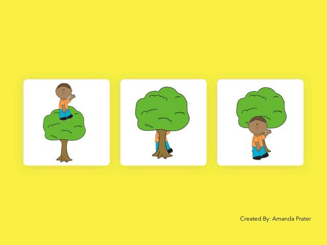 Prepositions by Amanda Prater