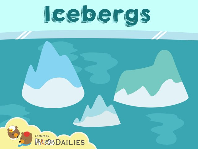 Icebergs by Kids Dailies