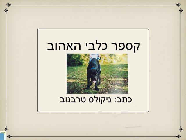 קספר כלבי האהוב השתלמות  פנינה גרין by פנינה גרין