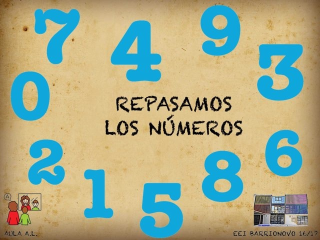 REPASO NÚMEROS by Aida Muestra A.L.