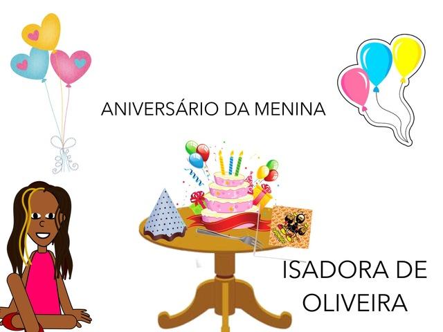 1o-ANO-ISADORA by Daiane Neves