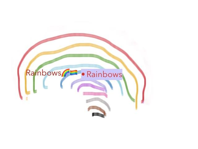 Rainbow 🌈  by Adrian Pearson