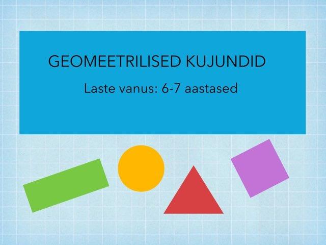 Geomeetrilised kujundid by Reelika Gr
