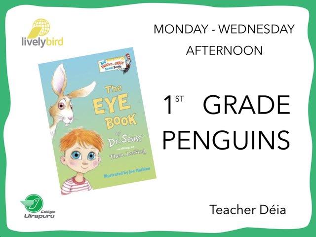 The Eye Book - M/W Afternoon by Lively Bird Uirapuru