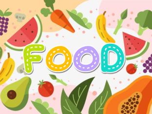 FOOD vocabulary by Feli GaMi