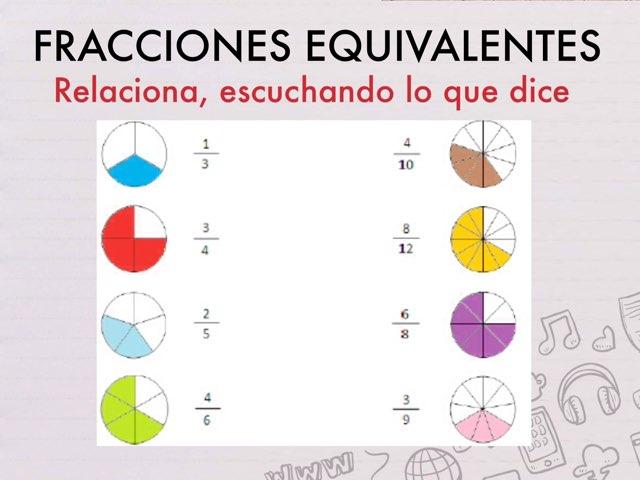 FRACCIONES EQUIVALENTES by Javier Cerveró