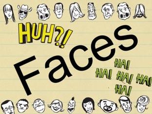 Faces! by Belinda Job