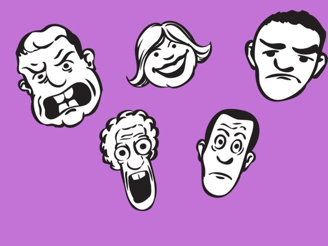 Facial Expressions by Victoria Keates