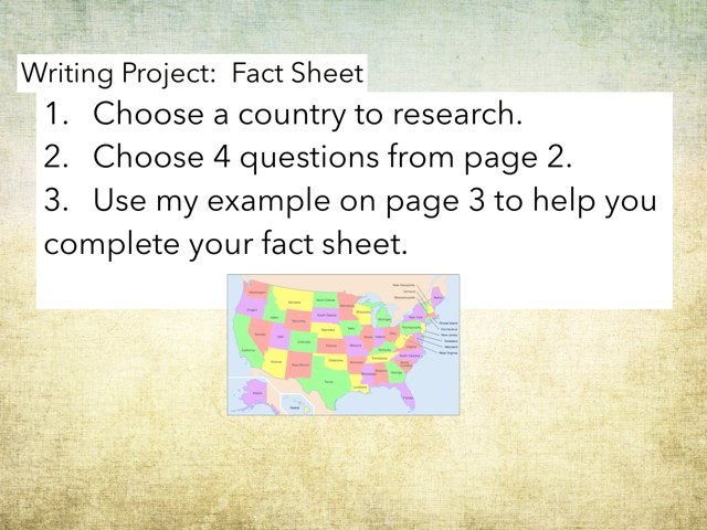 Fact Sheet by jane feltesj