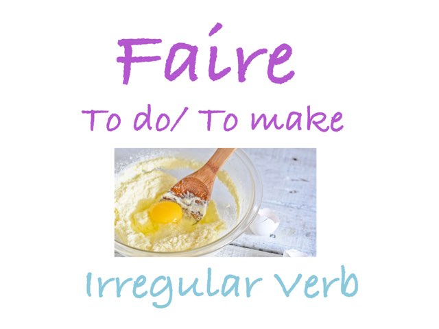 Faire - To Do/make by LNCharter FHS