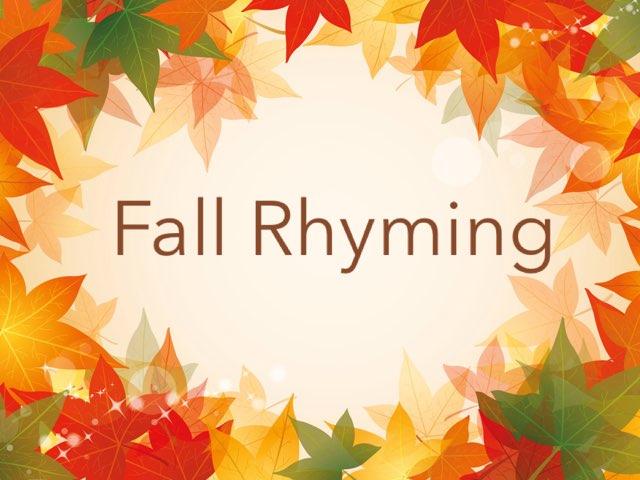 Fall Rhyming by Kristen VanVleet