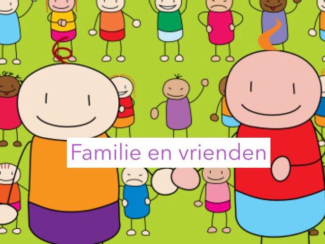 Familie En Vrienden Groep 5 by Wieke Jasper